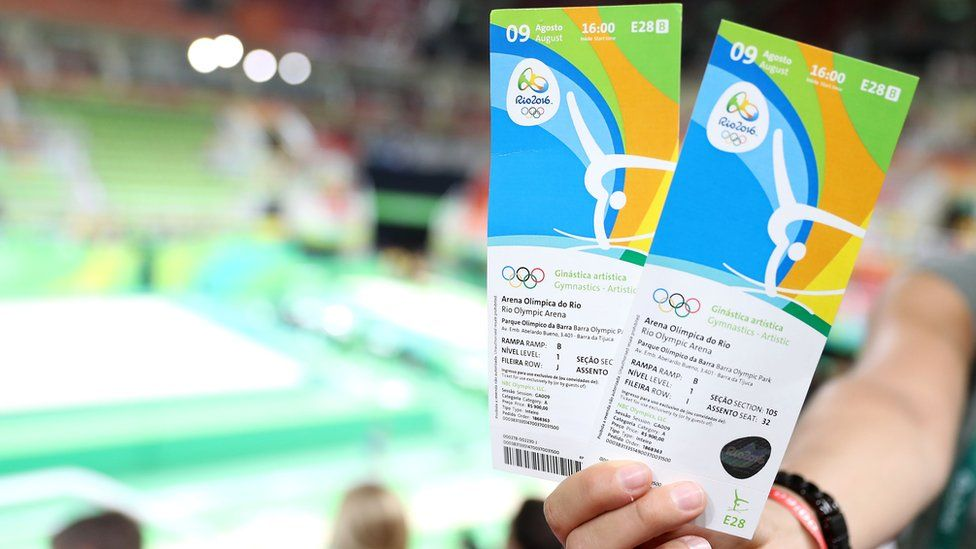 Tickets for Rio 2016