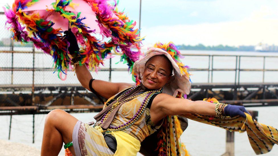 Dance Lady of New Orleans