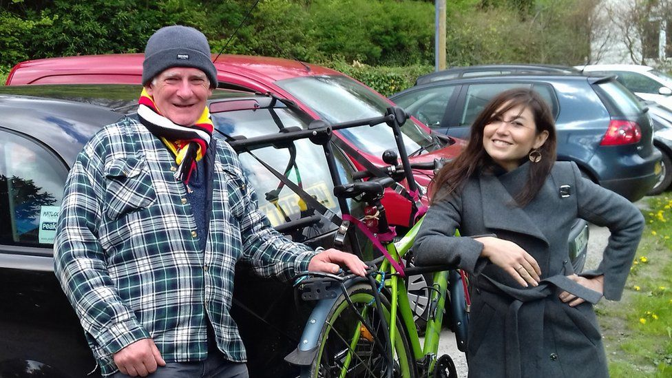 Adrian Toole and his late daughter Joanna