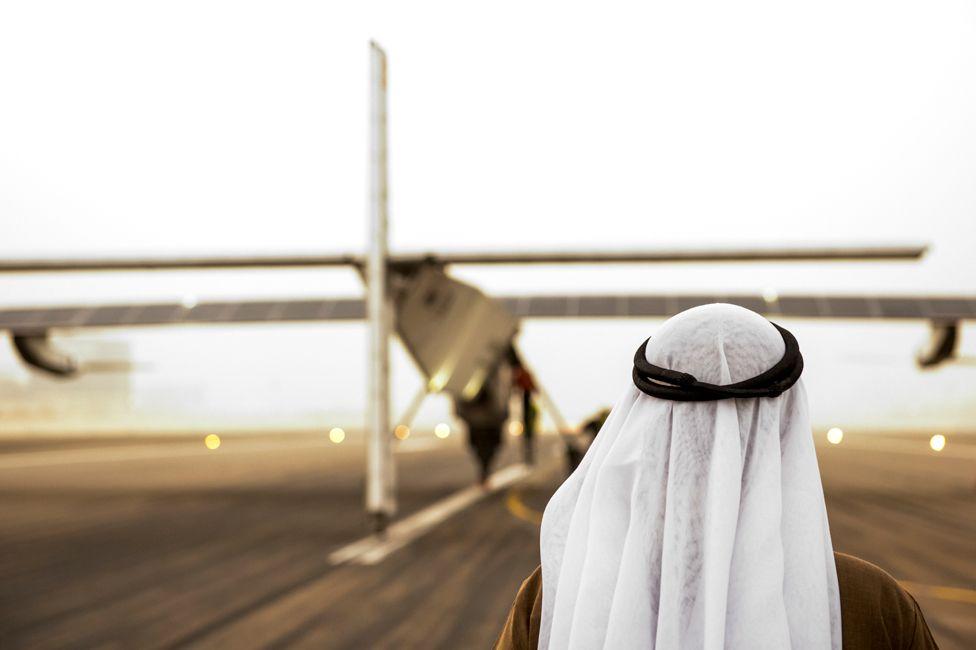 Solar Impulse in Abu Dhabi