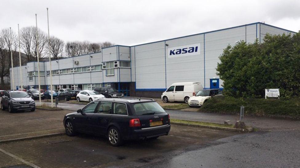 Kasai plant in Merthyr Tydfil