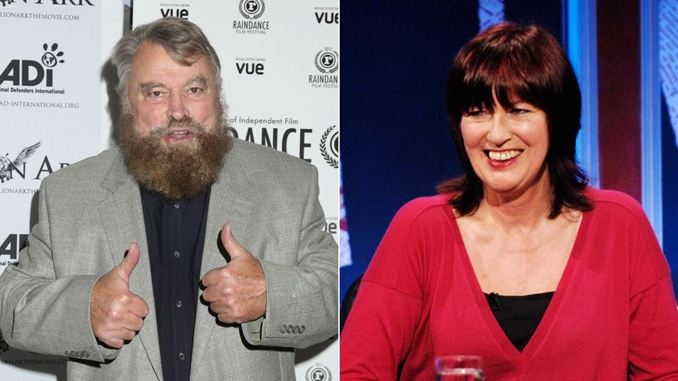 Brian Blessed and Janet Street-Porter