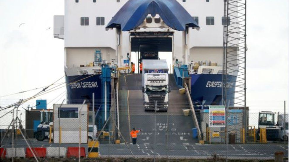 Larne Port