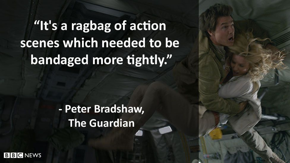 The Guardian's review: It's a ragbag of action scenes which needed to be bandaged more tightly.