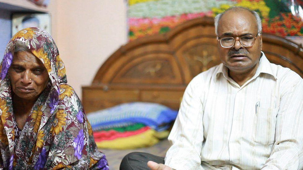 Avadhesh Yadav's parents