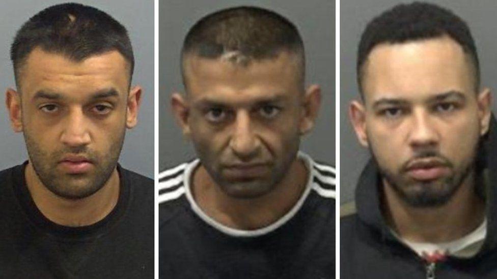 Idnan Akbar, 28, Mohammed Arshid, 37 and David Barnett, 24