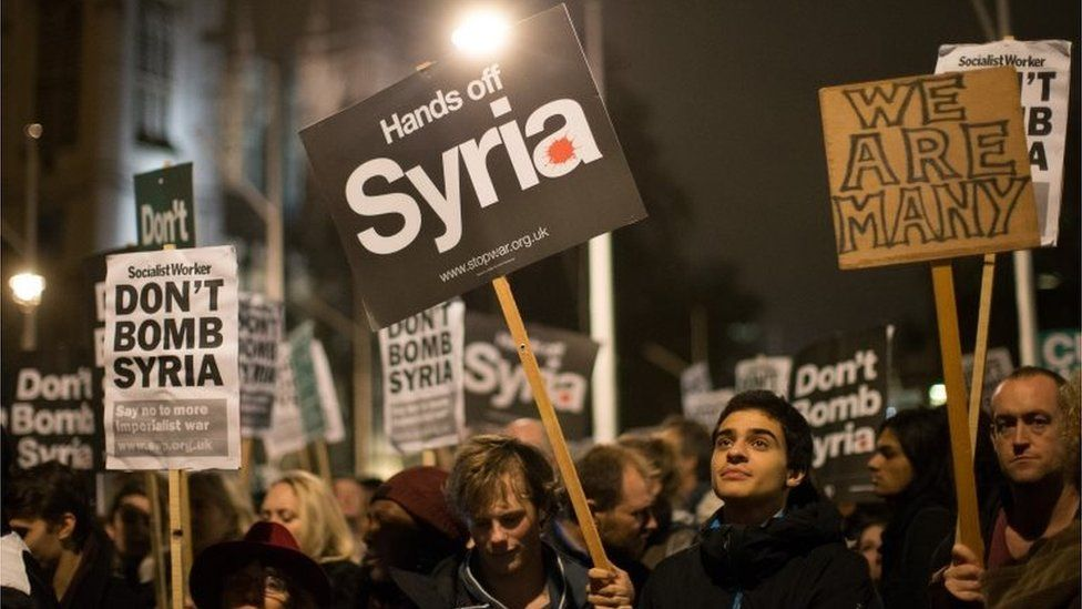 Syria protesters