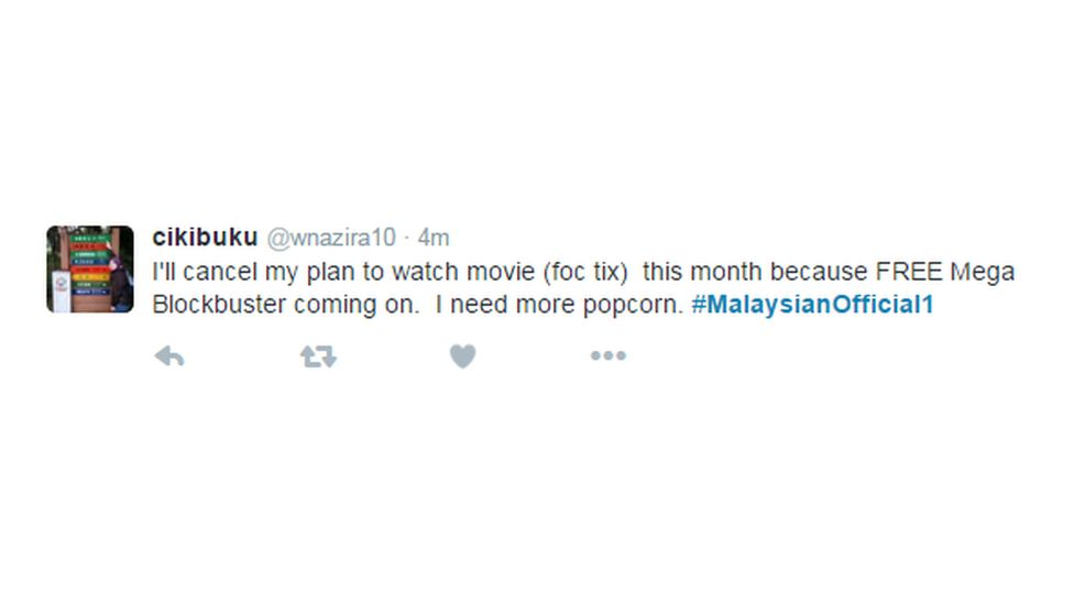 """""""I'll cancel my plan to watch movie this month because FREE Mega blockbuster coming on. I need more popcorn"""""""