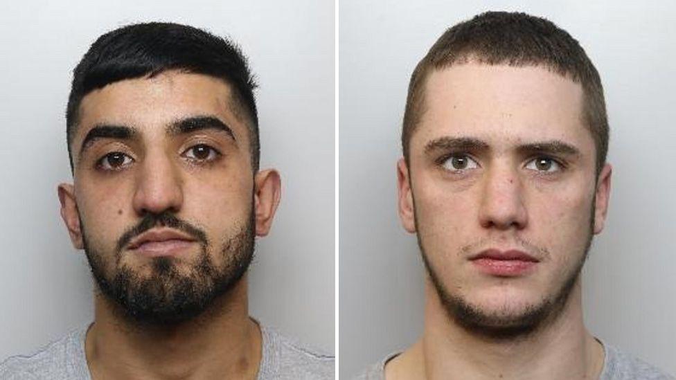 Nafees Hussain (left) and Kyle Greenwood