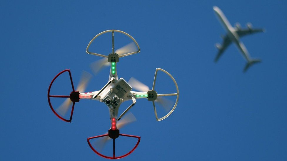 Drones have caused widespread disruption at airports around the world