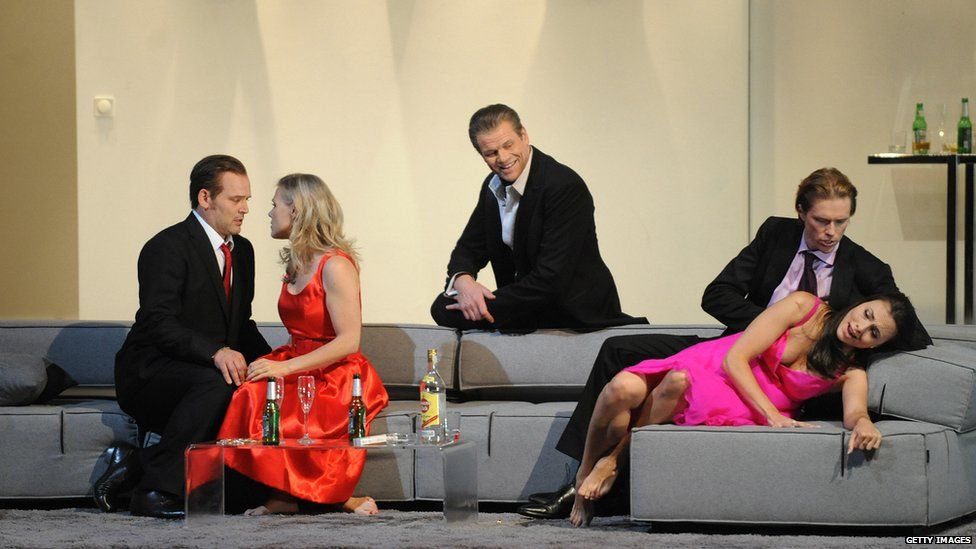 A 2009 production of Mozart's Cosi Fan Tutte, performed at the Salzburg Festival