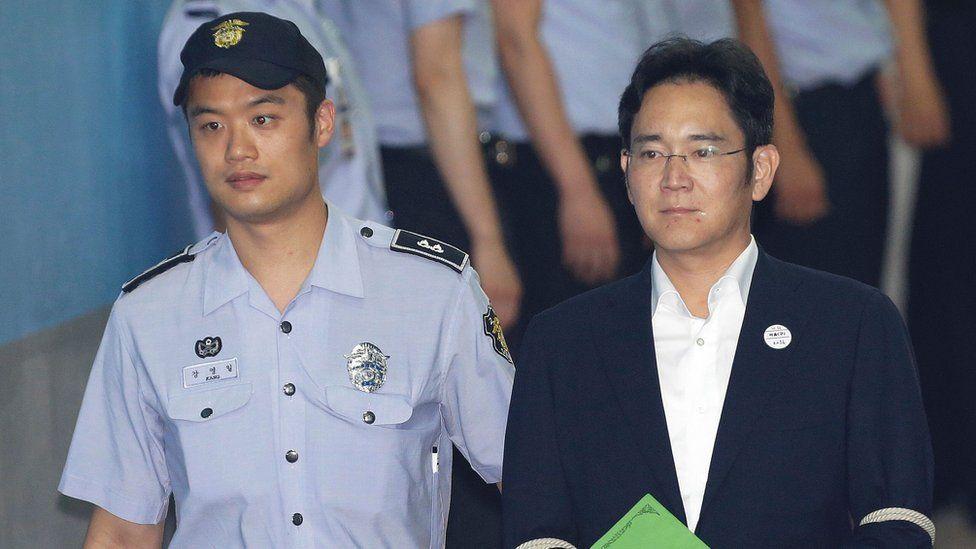 Samsung's convicted boss, Lee Jae-yong