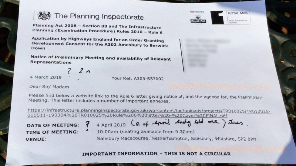 Planning Inspectorate card
