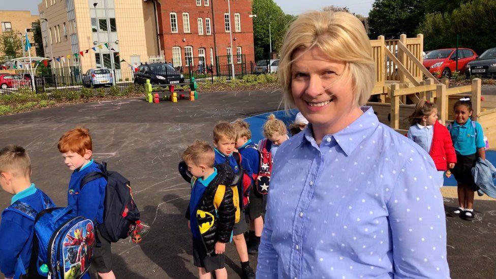 Head teacher Rhian Carbis