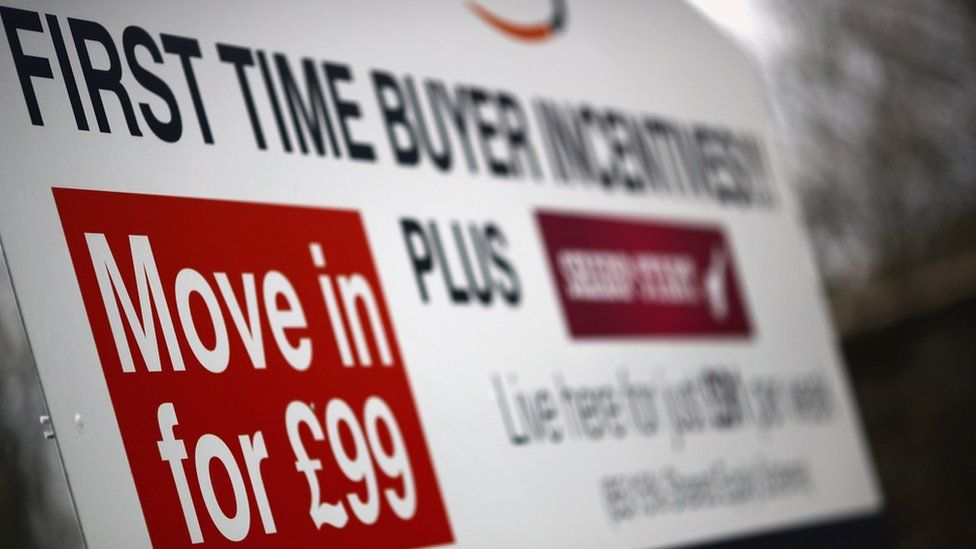 First time buyers sign