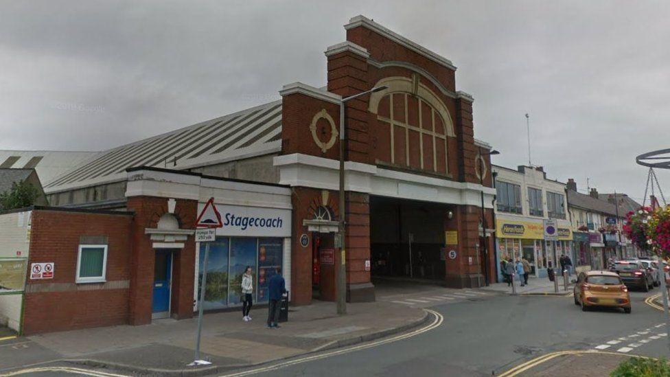 Workington Bus station