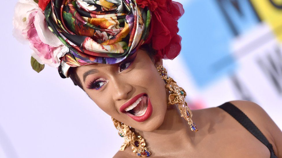 Cardi B is one of the judges on Netflix's new music show