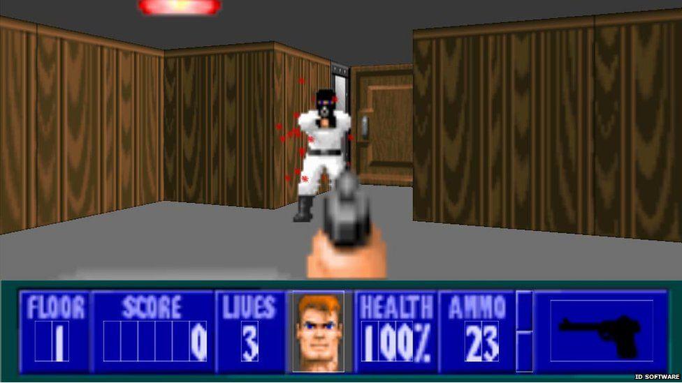 Wolfenstein 3D gameplay