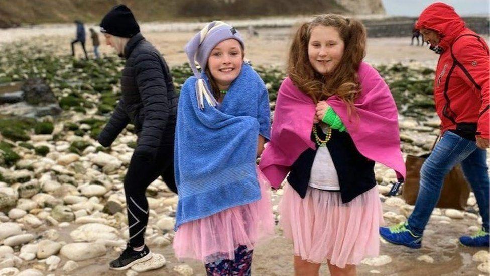 The annual Boxing Day dip in Flamborough