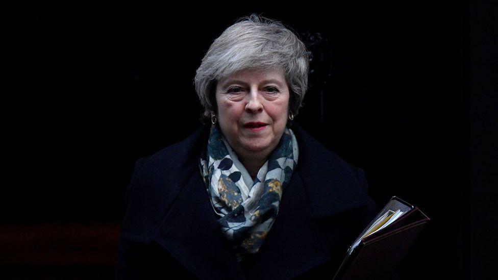 Theresa May on 17 Dec