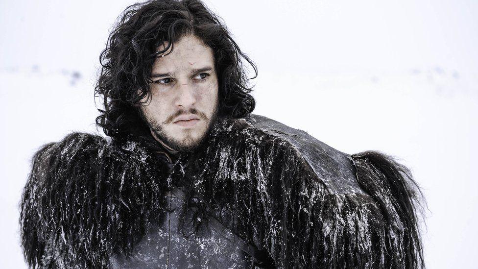 Actor Kit Harrington plays Jon Snow in the HBO series
