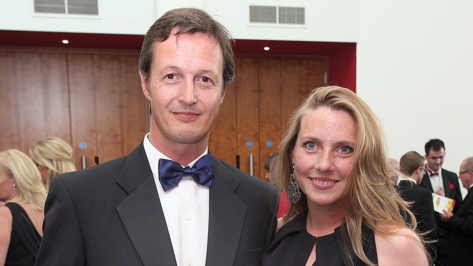 Simon Pearson and wife Emma