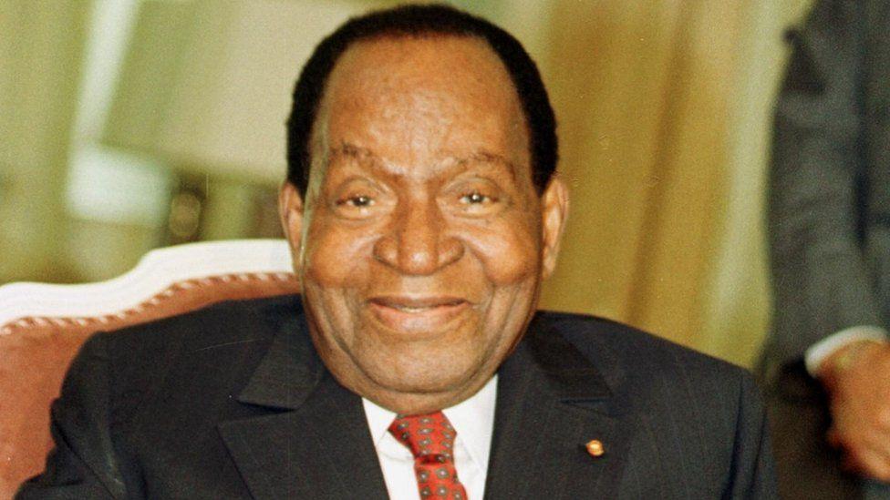 Ivory Coast's ex-president Houphouet-Boigny