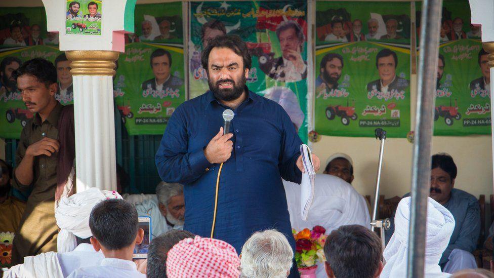 Election candidate Ammar Yasir
