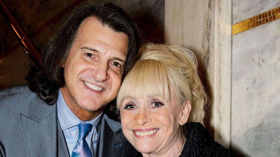 Dame Barbara Windsor and Scott Mitchell