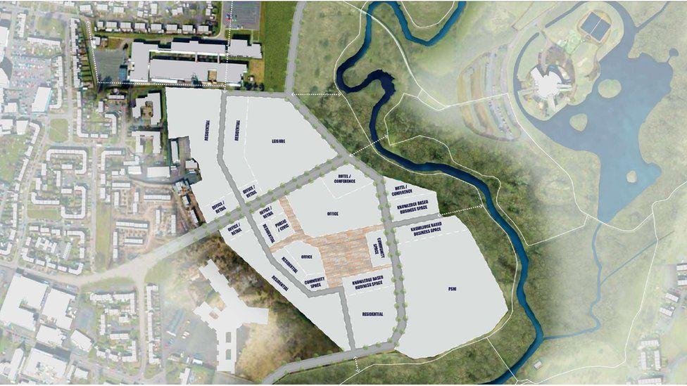The plans for the regeneration of St Patrick's Barracks