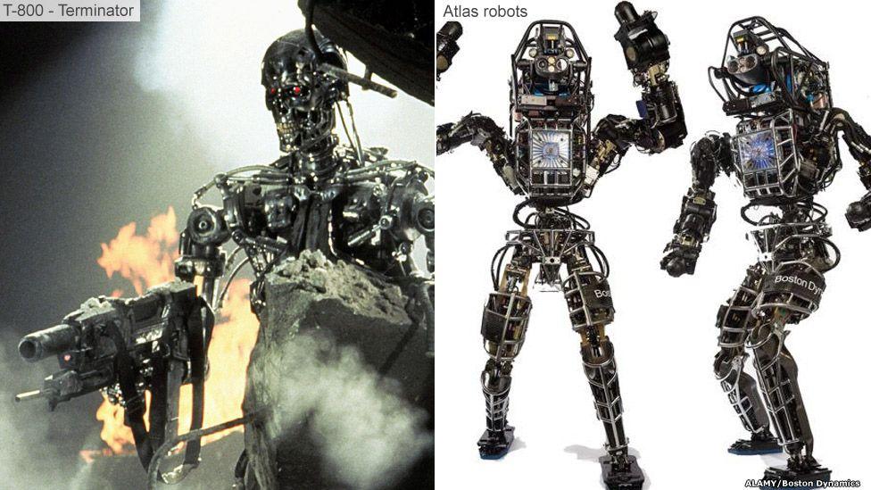 Terminator and Atlas