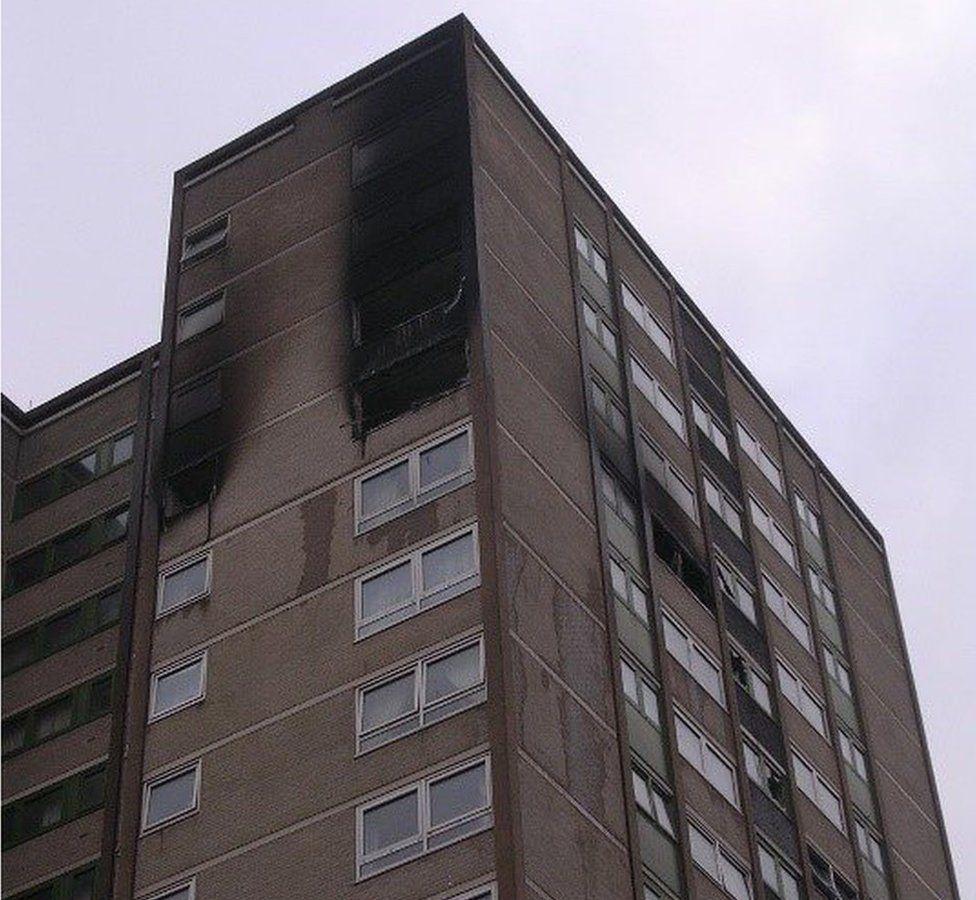 Harrow Court fire, Stevenage