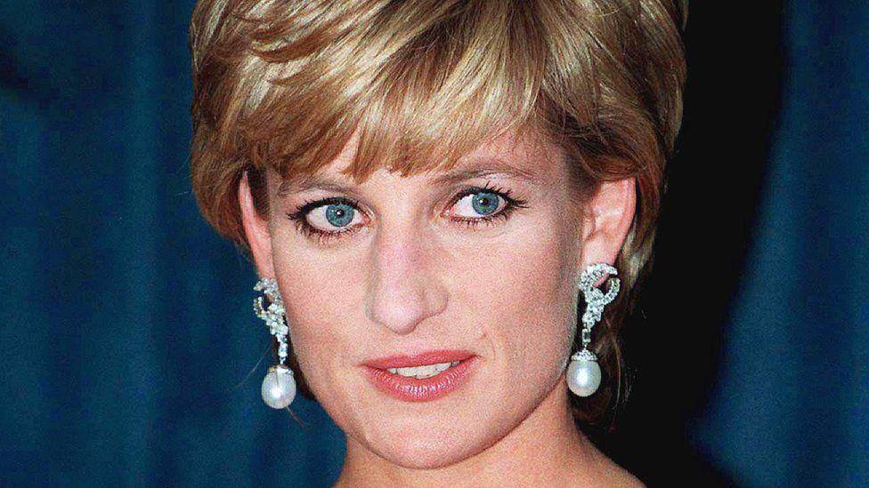 Princess Diana in 1997