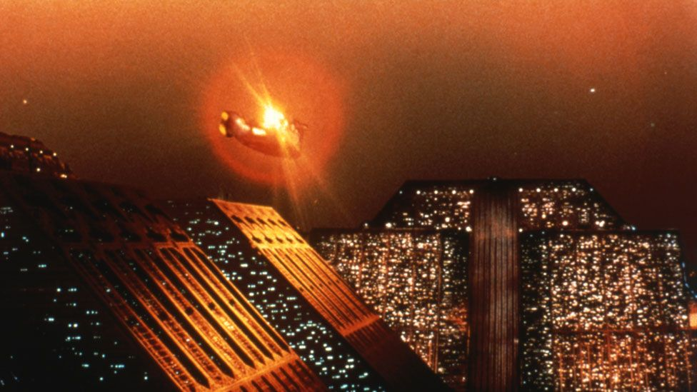 A still from the 1982 film Blade Runner