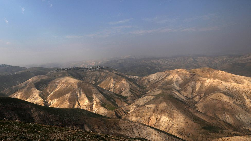 General view of the Jordan valley (28 January 2020)