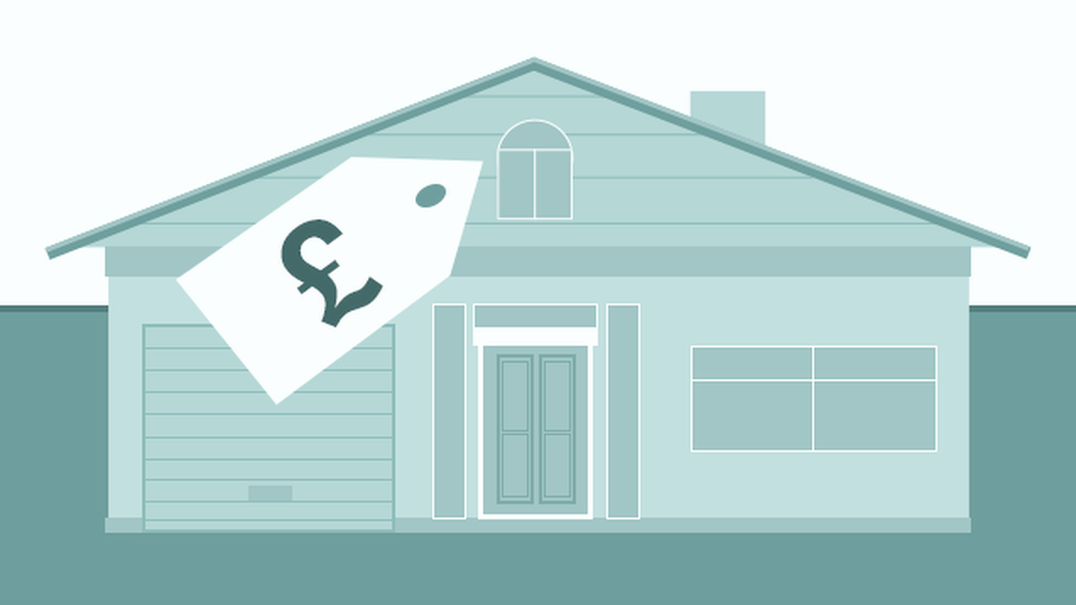 house prices illustration