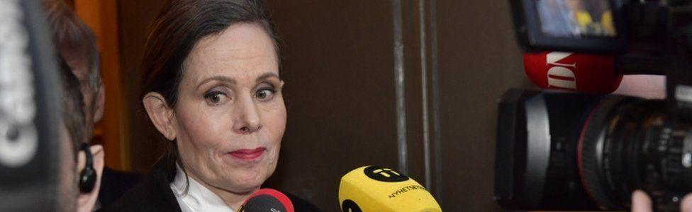 The academy's permanent secretary, Prof Sara Danius, resigned