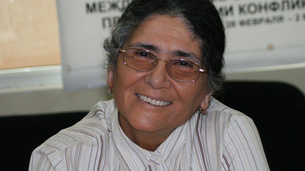 Tajik lawyer and rights activist, Oynikhol Bobonazarova