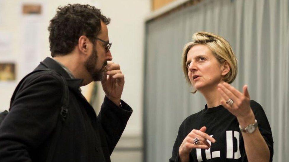 Tony Kushner and Marianne Elliott