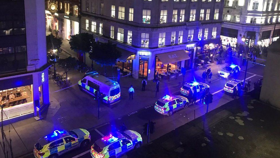 Crash in Covent garden