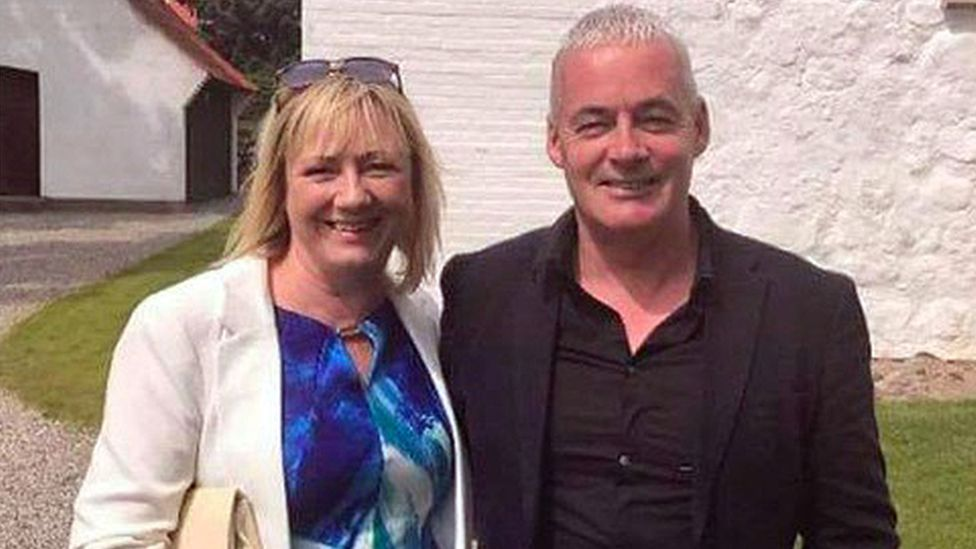 Lorraine Gordon and Andrew O'Hagan