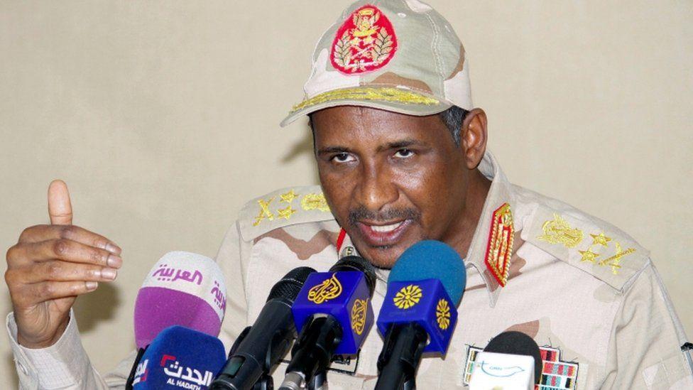 Gen Mohammed Hamdan Dagalo
