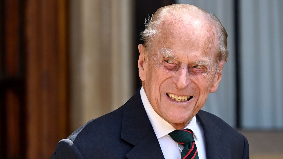 Prince Philip seen in July 2020