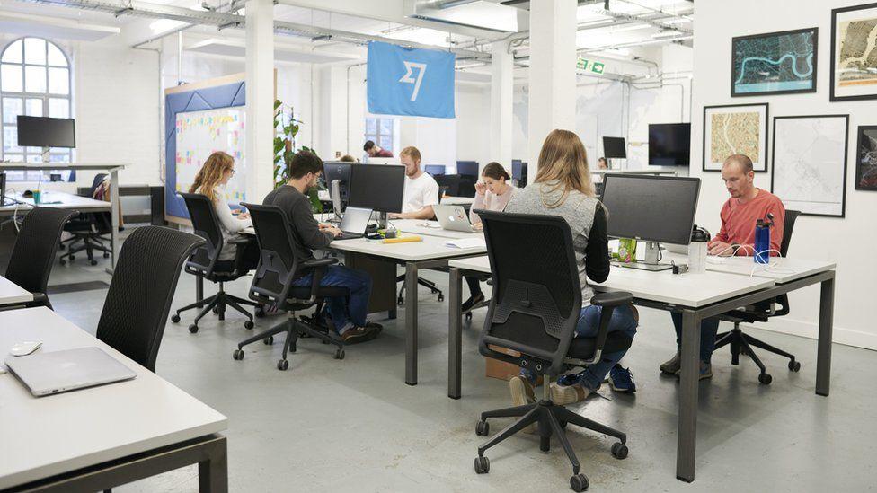 TransferWise's London office