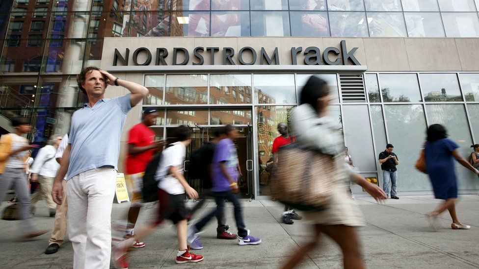 Nordstrom shop in New York