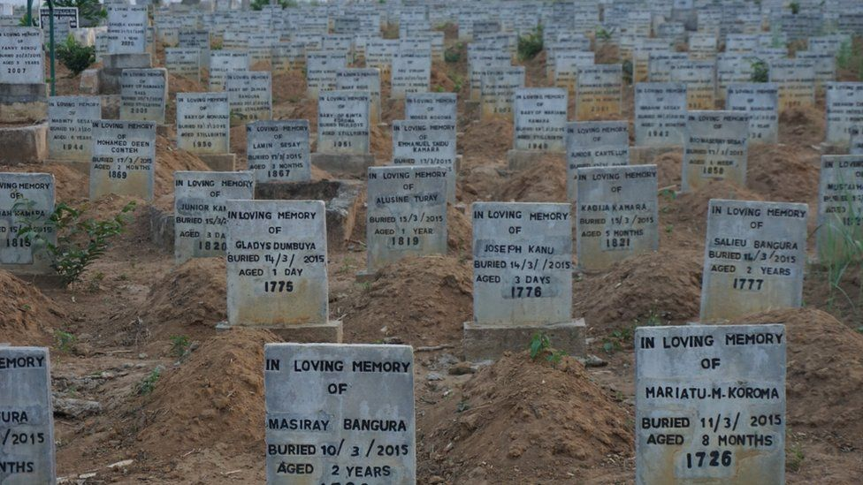 Cemetery for Ebola victims