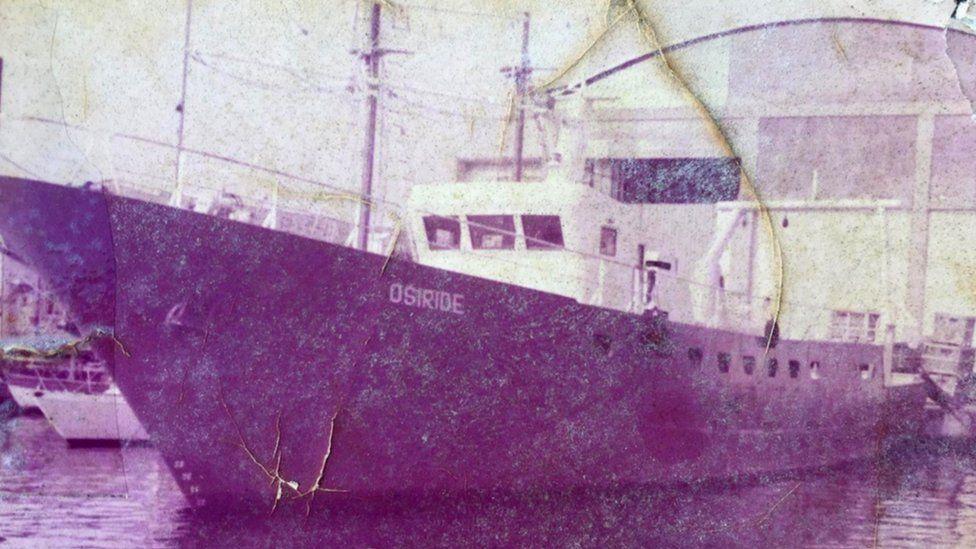 The boat Domenico lost to Libya