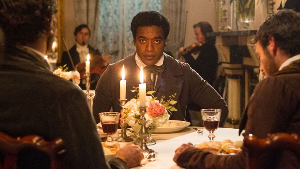 A scene from the film 12 Years a Slave