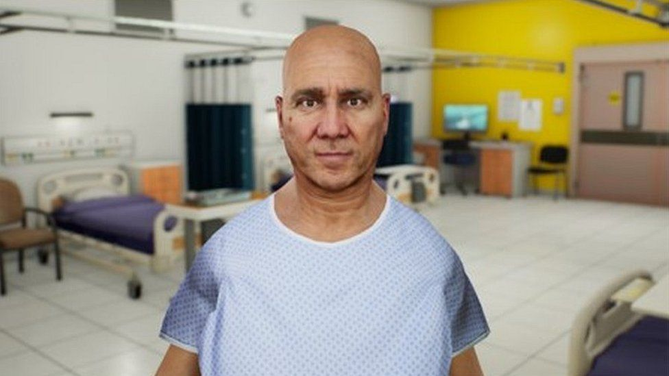 Virtual patient AI avatar