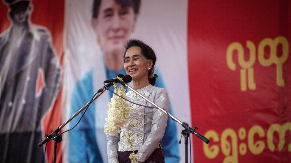 Pro-democracy icon Aung San Suu Kyi